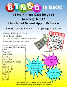 BINGO!!! @ upper cafeteria